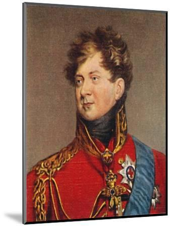 'George IV', 1935-Unknown-Mounted Giclee Print