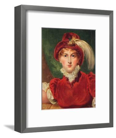 'Caroline of Brunswick', 1935-Unknown-Framed Giclee Print