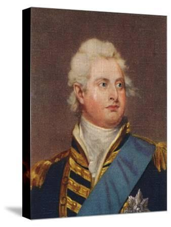 'William IV', 1935-Unknown-Stretched Canvas Print