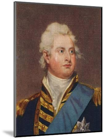 'William IV', 1935-Unknown-Mounted Giclee Print