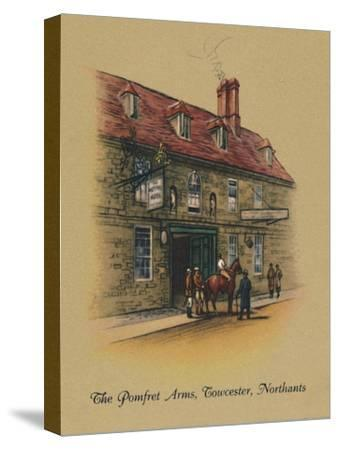 'The Pomfret Arms, Towcester, Northants', 1939-Unknown-Stretched Canvas Print