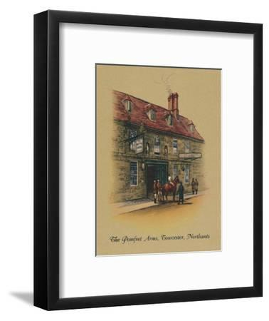 'The Pomfret Arms, Towcester, Northants', 1939-Unknown-Framed Giclee Print
