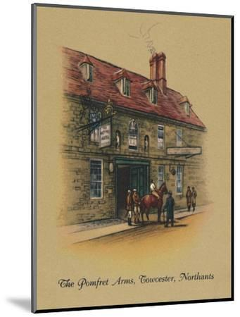 'The Pomfret Arms, Towcester, Northants', 1939-Unknown-Mounted Giclee Print