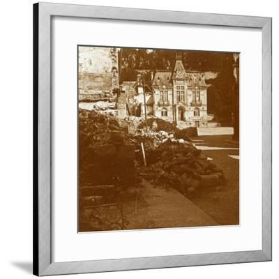 Town hall, Chateau Thierry, France, c1914-c1918-Unknown-Framed Photographic Print