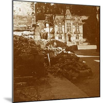 Town hall, Chateau Thierry, France, c1914-c1918-Unknown-Mounted Photographic Print
