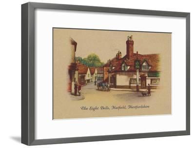 'The Eight Bells, Hatfield, Hertfordshire', 1939-Unknown-Framed Giclee Print