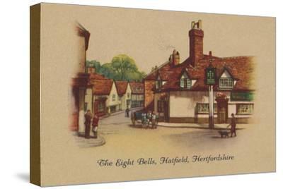 'The Eight Bells, Hatfield, Hertfordshire', 1939-Unknown-Stretched Canvas Print