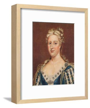 'Caroline of Ansbach', 1935-Unknown-Framed Giclee Print
