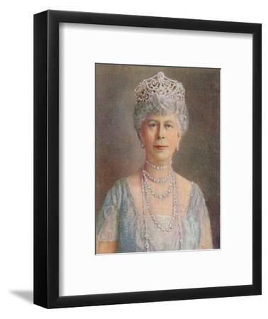 'H.M. Queen Mary', 1935-Unknown-Framed Giclee Print