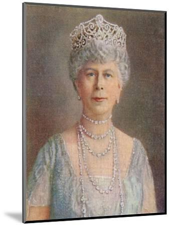 'H.M. Queen Mary', 1935-Unknown-Mounted Giclee Print