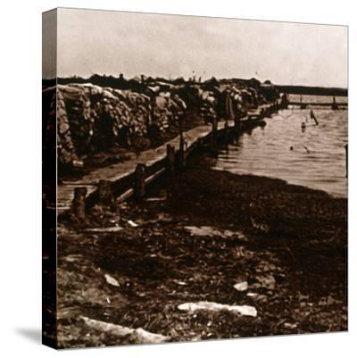 Trenches, Ramskapelle, Belgium, c1914-c1918-Unknown-Stretched Canvas Print