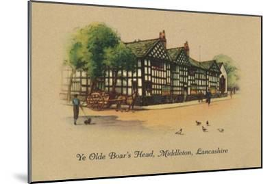 'Ye Olde Boar's Head, Middleton, Lancashire', 1939-Unknown-Mounted Giclee Print
