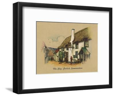 'The Ship, Porlock, Somersetshire', 1939-Unknown-Framed Giclee Print