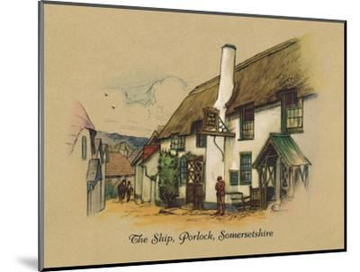 'The Ship, Porlock, Somersetshire', 1939-Unknown-Mounted Giclee Print