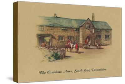 'The Oxenham Arms, South Zeal, Devonshire', 1939-Unknown-Stretched Canvas Print