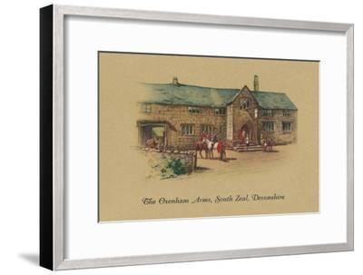 'The Oxenham Arms, South Zeal, Devonshire', 1939-Unknown-Framed Giclee Print