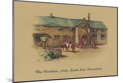 'The Oxenham Arms, South Zeal, Devonshire', 1939-Unknown-Mounted Giclee Print