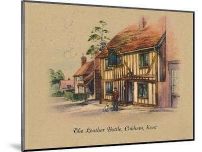 'The Leather Bottle, Cobham, Kent', 1939-Unknown-Mounted Giclee Print