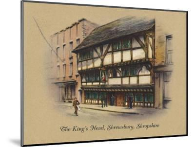 'The King's Head, Shrewsbury, Shropshire', 1939-Unknown-Mounted Giclee Print