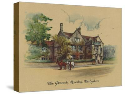 'The Peacock, Rowsley, Derbyshire', 1939-Unknown-Stretched Canvas Print