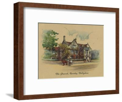 'The Peacock, Rowsley, Derbyshire', 1939-Unknown-Framed Giclee Print