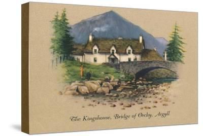 'The Kingshouse, Bridge of Orchy, Argyll', 1939-Unknown-Stretched Canvas Print