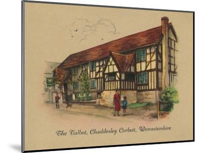 'The Talbot, Chaddesley Corbett, Worcestershire', 1939-Unknown-Mounted Giclee Print