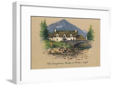 'The Kingshouse, Bridge of Orchy, Argyll', 1939-Unknown-Framed Giclee Print