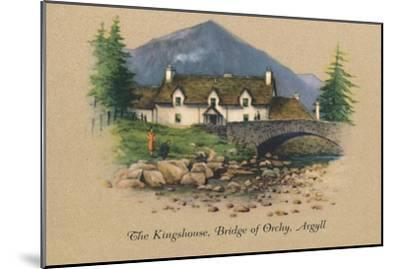 'The Kingshouse, Bridge of Orchy, Argyll', 1939-Unknown-Mounted Giclee Print