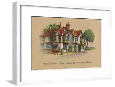 'The Lambert Arms, Aston Rowant, Oxfordshire', 1939-Unknown-Framed Giclee Print