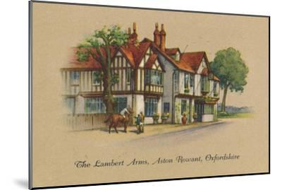 'The Lambert Arms, Aston Rowant, Oxfordshire', 1939-Unknown-Mounted Giclee Print