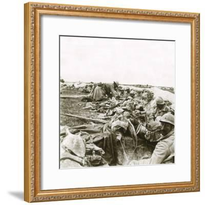 Hill 193, Champagne, northern France, c1914-c1918-Unknown-Framed Photographic Print