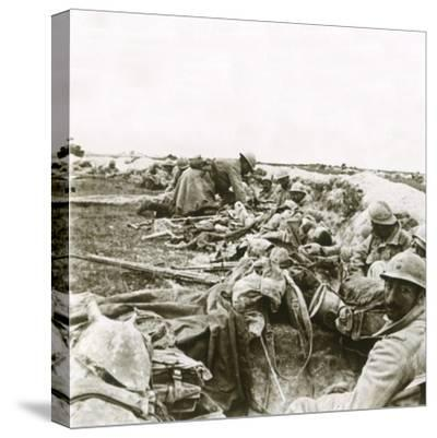 Hill 193, Champagne, northern France, c1914-c1918-Unknown-Stretched Canvas Print