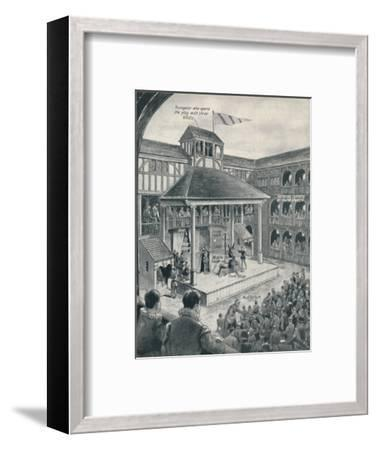 'A London Theatre in Shakespeare's Time', c1934-Unknown-Framed Giclee Print