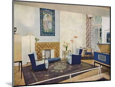 'Exhbition living-room designed by Esmé Gordon, A.R.I.B.A., A.R.I.A.S.', c1945-Unknown-Mounted Photographic Print