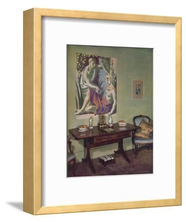 'Drawing-room in a London flat decorated by Frankland Dark, F.R.I.B.A. for his own use', c1945-Unknown-Framed Photographic Print