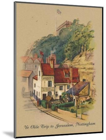 'Ye Olde Trip to Jerusalem, Nottingham', 1939-Unknown-Mounted Giclee Print
