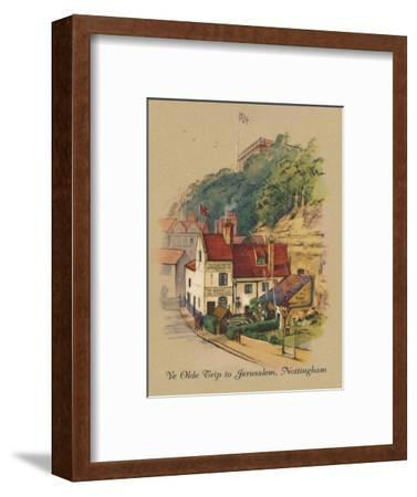 'Ye Olde Trip to Jerusalem, Nottingham', 1939-Unknown-Framed Giclee Print