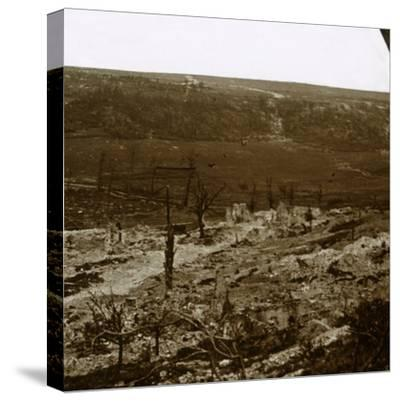 Chemin des Dames, northern France, c1914-c1918-Unknown-Stretched Canvas Print