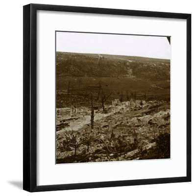 Chemin des Dames, northern France, c1914-c1918-Unknown-Framed Photographic Print