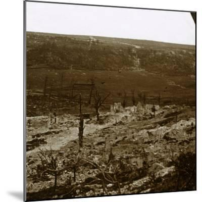 Chemin des Dames, northern France, c1914-c1918-Unknown-Mounted Photographic Print