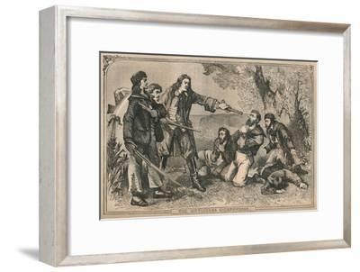 'The Mutineers Overpowered', c1870-Unknown-Framed Giclee Print
