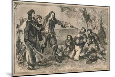 'The Mutineers Overpowered', c1870-Unknown-Mounted Giclee Print