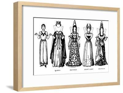 'The Great Gallery of Historic Costume: How People Dressed in Henry IV's Reign', c1934-Unknown-Framed Giclee Print