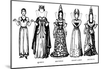 'The Great Gallery of Historic Costume: How People Dressed in Henry IV's Reign', c1934-Unknown-Mounted Giclee Print
