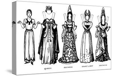 'The Great Gallery of Historic Costume: How People Dressed in Henry IV's Reign', c1934-Unknown-Stretched Canvas Print
