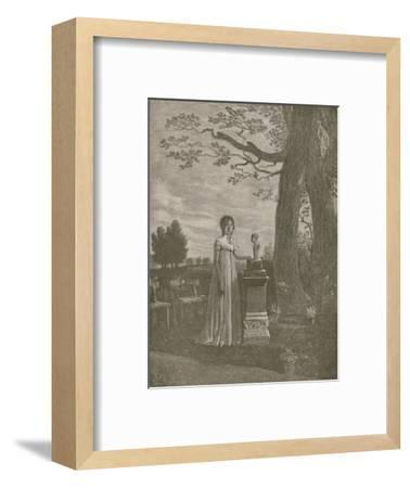 'Marie-Julie Clary, wife of Joseph Bonaparte; Queen of Spain', c1806-1808, (1896)-Unknown-Framed Giclee Print