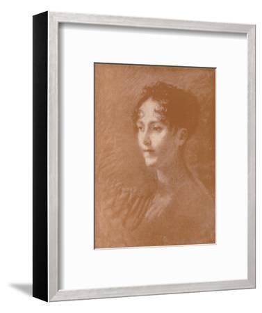 'Josephine', c1805, (1896)-Unknown-Framed Giclee Print