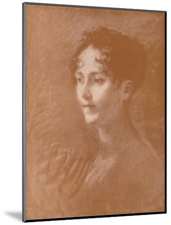 'Josephine', c1805, (1896)-Unknown-Mounted Giclee Print