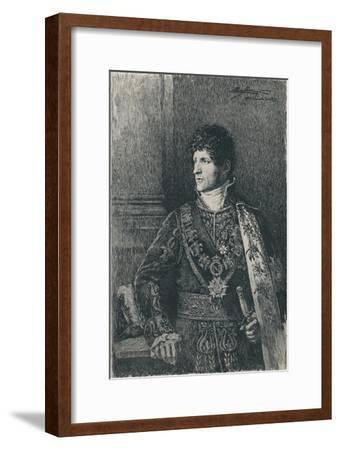 'Felice Pasquale Bacciocchi', c1805-1820, (1896)-Unknown-Framed Giclee Print